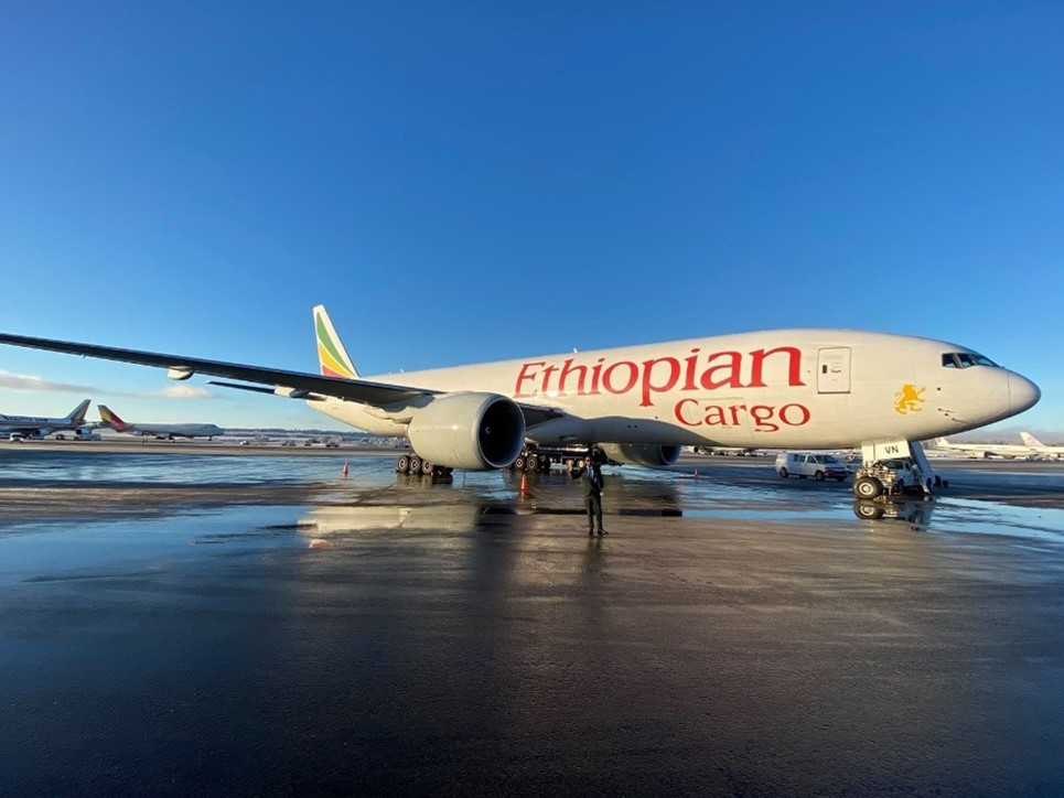 Ethiopian Cargo Launches Trans-Pacific Cargo Flight Services, Incheon to Atlanta via Anchorage