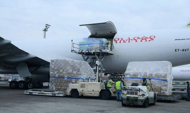 Ethiopian Wins 'International Air Cargo Marketer of the Year' Award.
